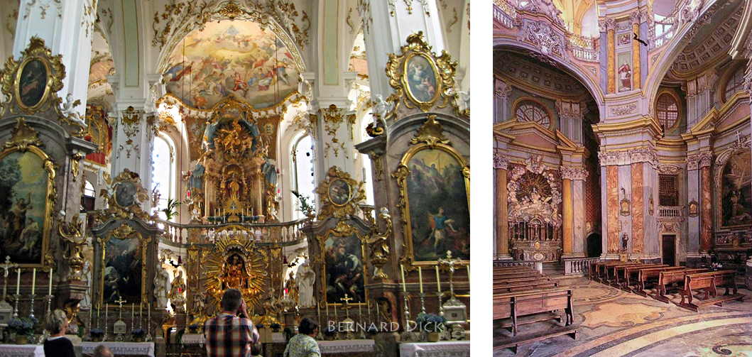 Cleansing fire church architecture styles baroque for Baroque style church