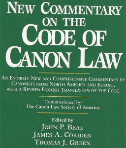 Code of Canon Law Book Cover