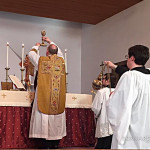 Mass at the Fellowship of Saint Alban in Henrietta, NY.