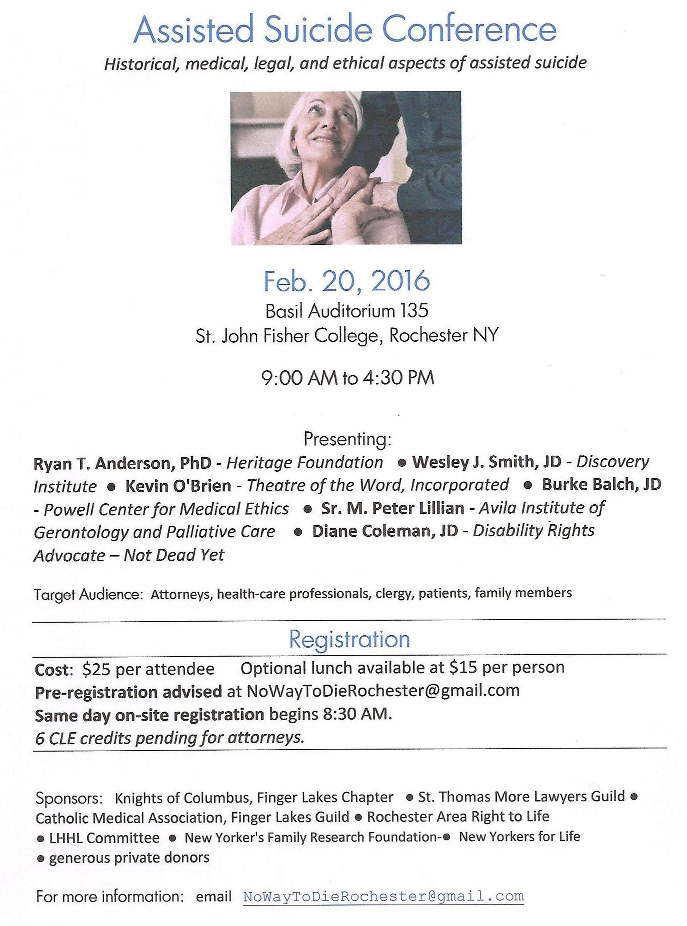 Euthanasia Conference