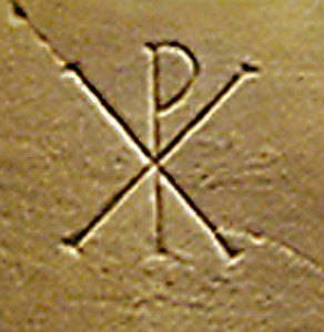 Chi Rho, Catacomb of San Callisto