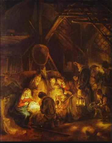 "Rembrandt's ""Adoration of the Shepherds"""